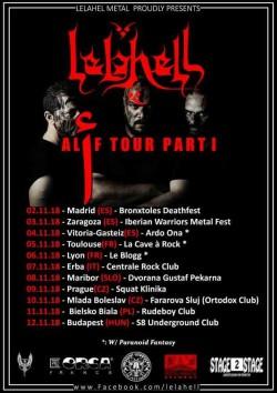 Lelahell Tour Pt 1