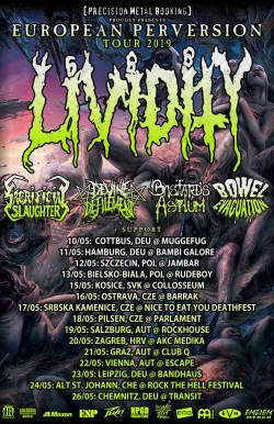Lividity European Tour 2019